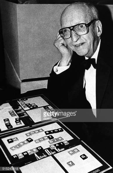 when was scrabble invented scrabble inventor alfred pictures getty images