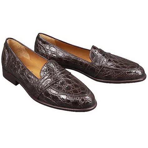 crocodile loafers mens ralph footwear genuine crocodile bel air