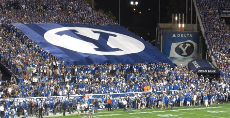 byu student section not all big 12 student leaders oppose byu as conference
