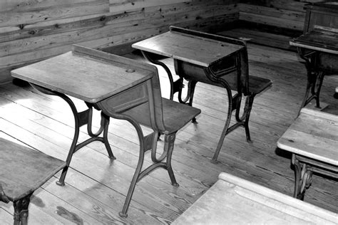 old wooden school desk free stock photo public domain