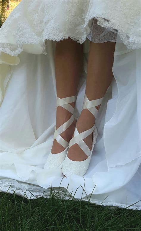 Cremefarbene Ballerinas Hochzeit by Themed Wedding Shoes Lookingyourbestblog