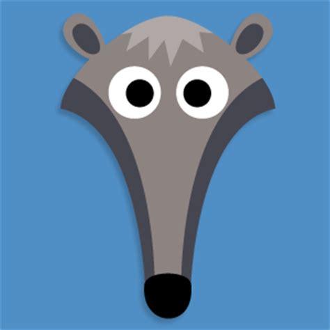 printable ant mask template printable anteater mask printable masks for kids to make