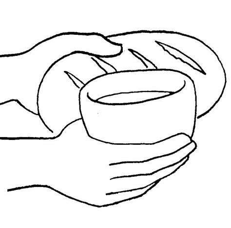 Holy Communion Printable Coloring Pages by Holy Communion Coloring Pages Coloring Home