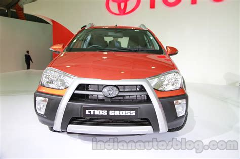 Ktm Auto Expo 2014 by Toyota Etios Cross At Auto Expo 2014