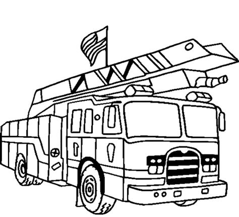 20 free printable fire truck coloring pages fire truck clipart coloring page pencil and in color