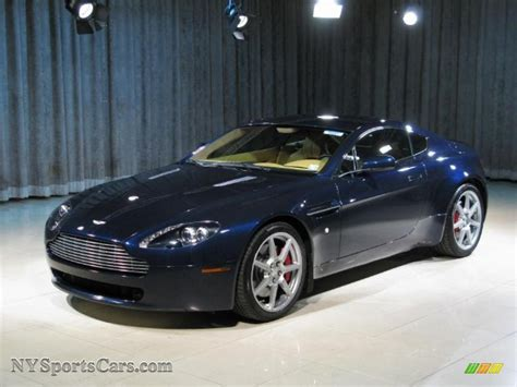 midnight blue maserati 2008 aston martin v8 vantage coupe in midnight blue photo