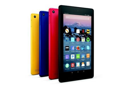 amazon tablet amazon refreshes fire tablets and adds new fire hd 8 kids