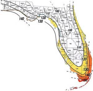 florida wind load map sun tek skylightswind zone map florida