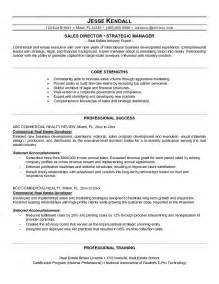 Corporate Real Estate Director Sle Resume by Real Estate Resume Sle Getessay Biz