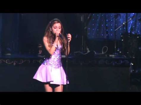 ariana grande tattooed heart live at the listening