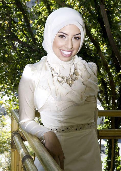 Blus Muslim White white gorgeous wedding dress