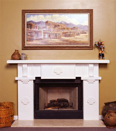 Plaster Fireplace Mantels by A Plus Inc Santa Fe