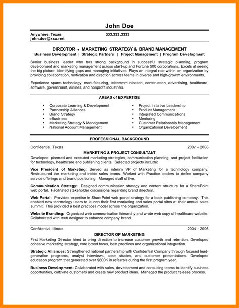 personal brand statement template resume statement exles resume template ideas