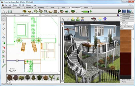 punch home design for windows 7 punch landscaping deck patio design plans autocad windows