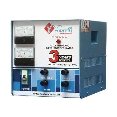 Yoritsu Stabilizer Digital 7 5 Kva jual stabilizer yoritsu terbaru harga murah blibli