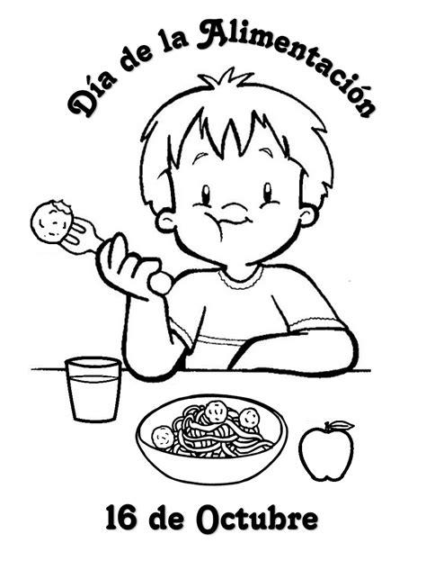 imagenes octubre para colorear imagenes para colorear del dia de la alimentacion imagui