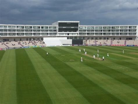 Hiltons Stand In by Spa Cafe Picture Of At The Ageas Bowl