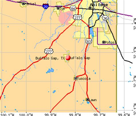 buffalo texas map buffalo gap texas tx 79508 profile population maps real estate averages homes