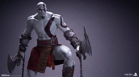 Play God Of War Kratos Kws god of war kratos statue by efx sideshow collectibles