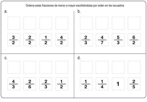 ejercicios de fracciones para cuarto de primaria n 250 meros fraccionarios aprende m 225 s sobre las fracciones