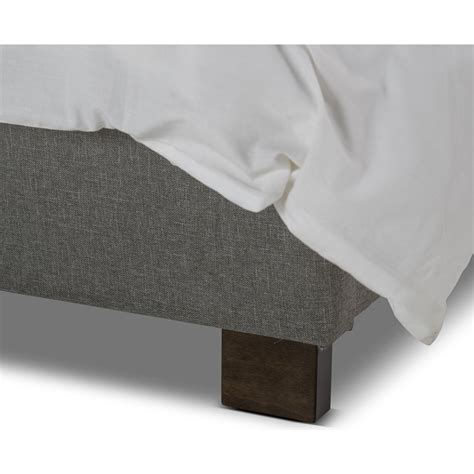 light grey bed frame rhea wingback fabric bed frame in light grey buy