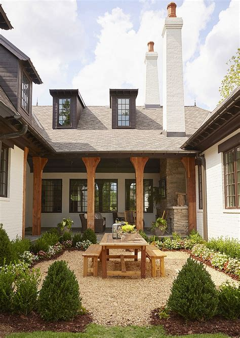 brick  stone french country home home bunch interior