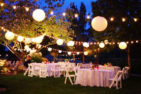having a backyard wedding backyard wedding ideas and tips everafterguide