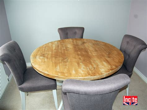 Handmade Painted Furniture - distressed painted and pine tables by incite derby