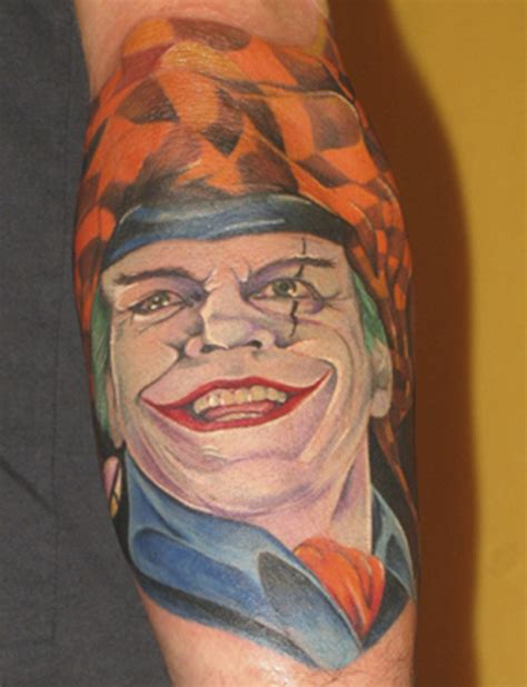 tattoo pics of the joker joker tattoos