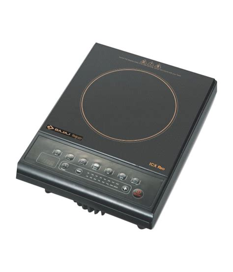 induction cooking range india bajaj majesty icx neo induction cookers price in india 15 dec 2017 bajaj majesty icx neo
