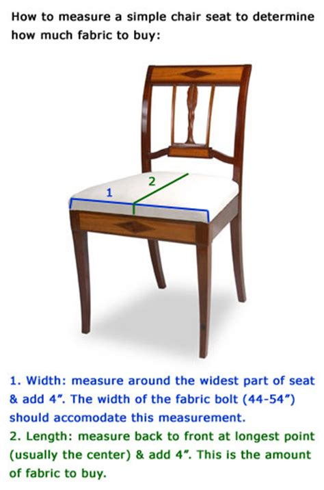 how to measure chair for upholstery measuring a simple chair seat determining fabric