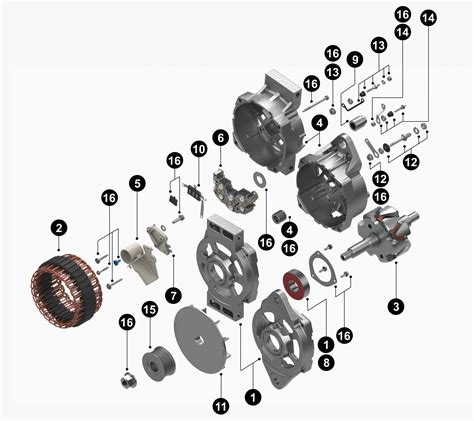 50dn alternator diagram wiring diagram with description