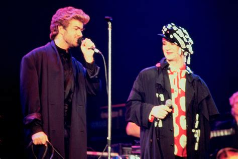 george michael archive daily dish boy george on his feud with george michael video the