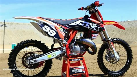 bicycle motocross action magazine project 2015 ktm 150 sx 2 stroke motocross action