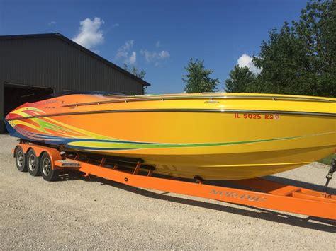 nordic cigarette boat 2009 nordic flame powerboat for sale in illinois