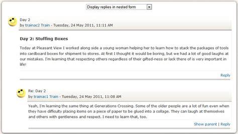 blogger forum moodle assists blogs wikis forums