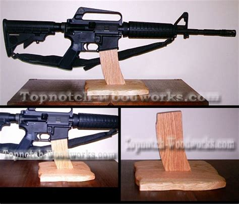 rifle display stand ar15 rifle display stand by topnotch woodworks