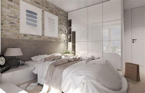 schöne wandleuchten kleines schlafzimmer farblich gestalten