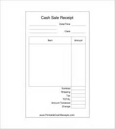 Sales Receipt Template Word by Sales Receipt Template 8 Free Word Excel Pdf Format