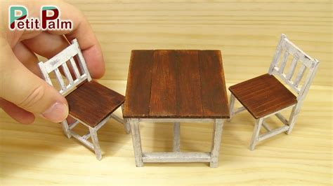 how to make a mini couch diy how to make miniature table chair vintage paint