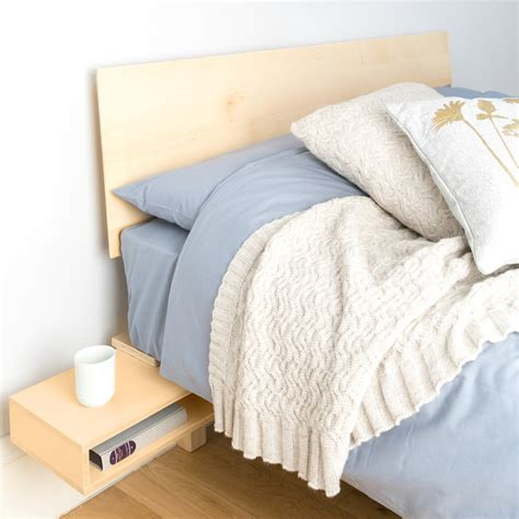 Etsy Bed by Floating Bed With Fold Out Bedside By Urbansize On Etsy