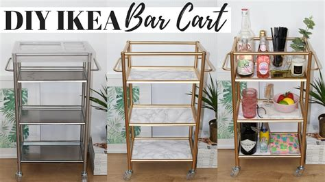 Bar Ikea Hack by Diy Bar Cart Ikea Hacks Ep 5 Easy And Affordable