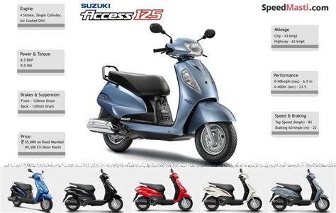 Mileage Of Suzuki Access 125 Suzuki Access Review 2015 Access Prices Mileage