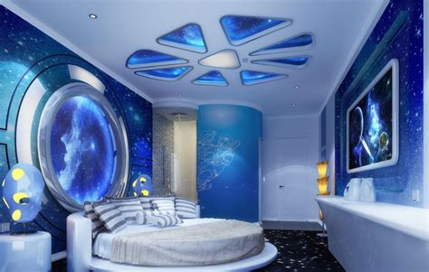 space room decor kids room shining star ceiling ideas galaxy space scheme