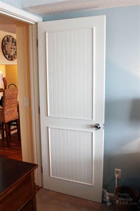 How To Get Door by How To Add Panels To Flat Hollow Door Pretty Handy
