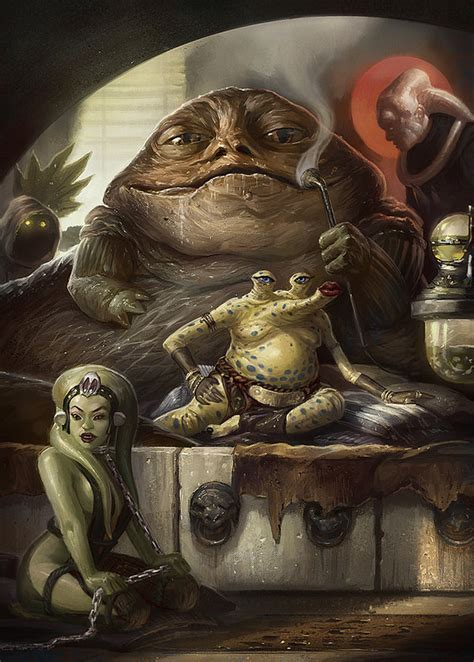 Jabba The Hutt By Faxtar On Deviantart