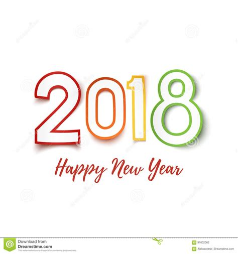 new year cards 2018 template new year card 2018 template merry happy new