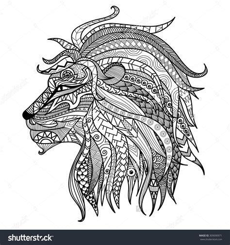 african lion coloring pages quot princess african american coloring page head on