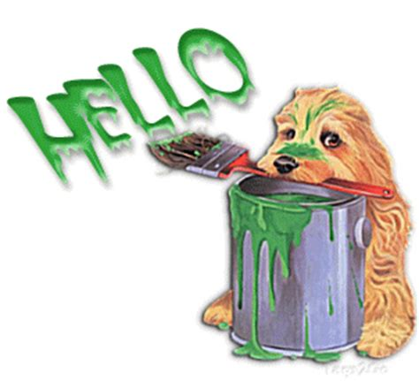 painting with hello in it hello paint ag1 at animated gifs org