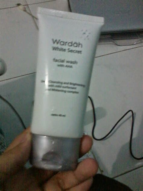 Wash Wardah review wardah white secret wash with aha la